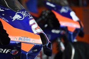 Zoom sur la Red Bull KTM Tech 3