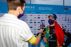Antonio Felix da Costa, DS Techeetah talks to the press