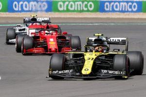 Esteban Ocon, Renault F1 Team R.S.20, Sebastian Vettel, Ferrari SF1000 et Pierre Gasly, AlphaTauri AT01