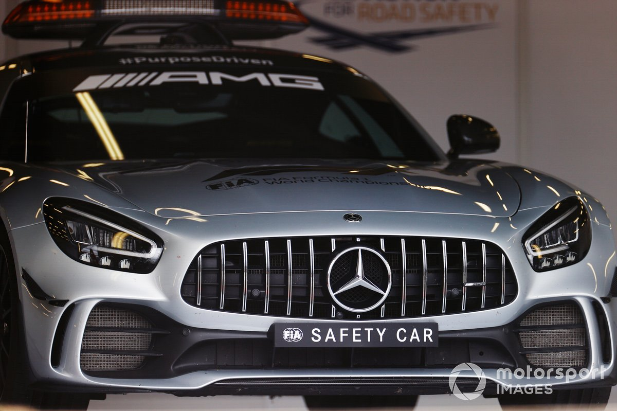 El AMG Mercedes safety car