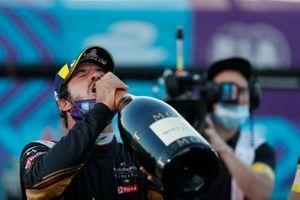 Antonio Felix da Costa, DS Techeetah celebrates his win