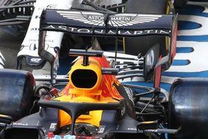 L'ala posteriore della, Red Bull Racing, RB16