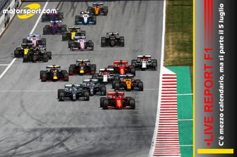 Cover Live Report F1
