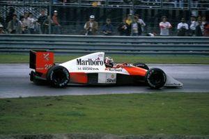 Gerhard Berger, McLaren MP4-5B Honda, al GP del Canada del 1990
