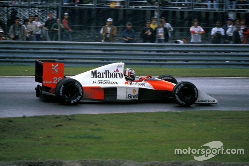 #28: Gerhard Berger (McLaren)