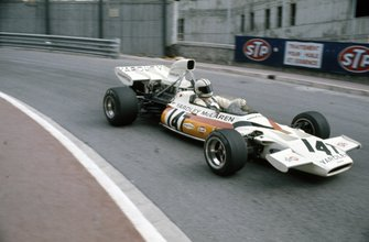 Denny Hulme, McLaren M19C Ford in the spare car