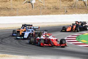 Oscar Piastri, Prema Racing , Matteo Nannini, Jenzer Motorsport e Alexander Peroni, Campos Racing