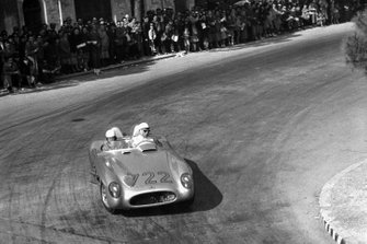 Stirling Moss, Denis Jenkinson, Mercedes-Benz 300 SLR