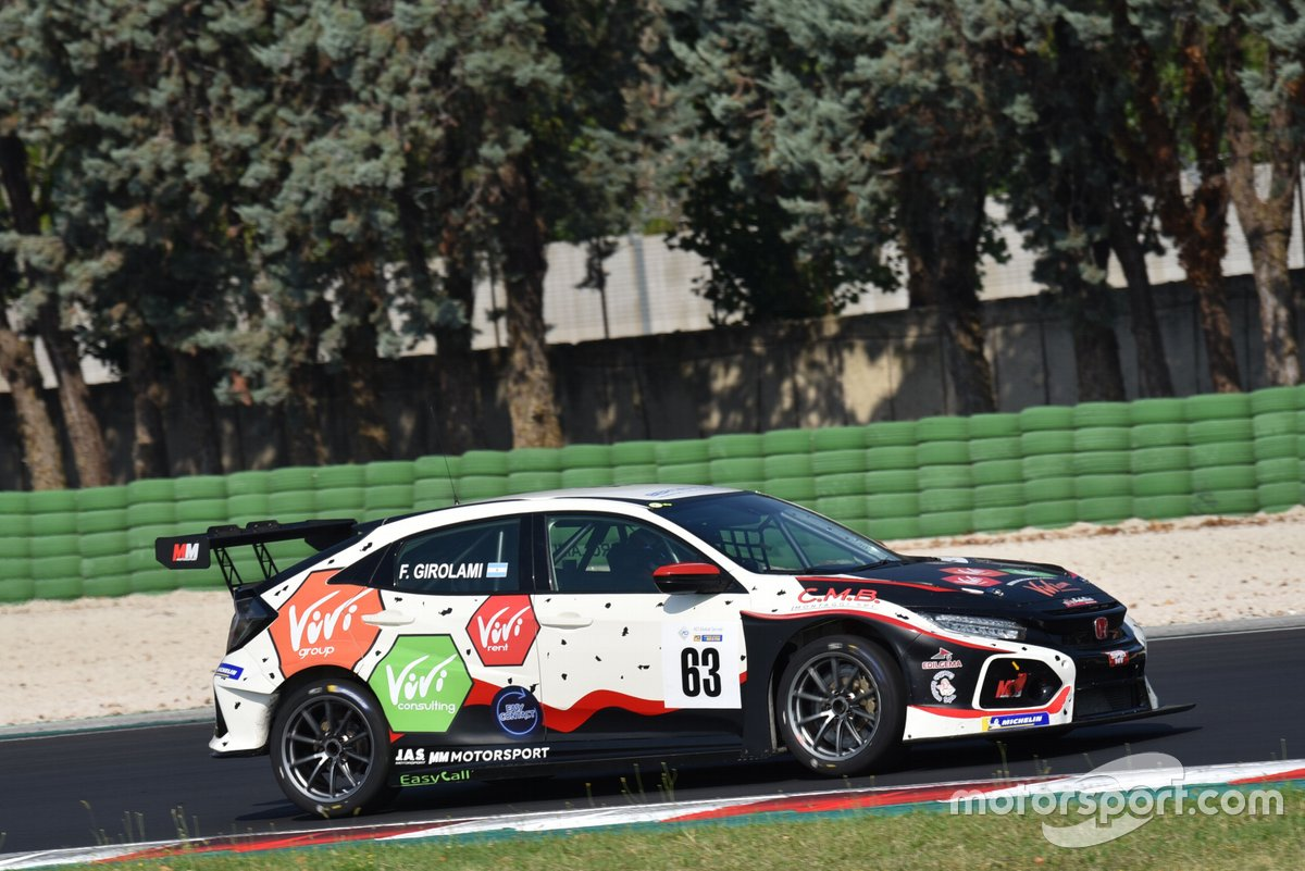 Franco Girolami, MM Motorsport, Honda Civic Type R TCR