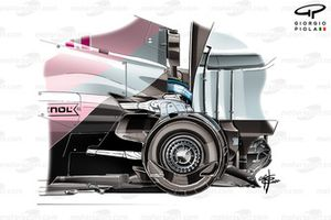 Tamburo freno posteriore Racing Point RP20