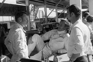 Dave Charlton, Brabham, Graham Hill, Brabham, Joakim Bonnier, Brabham