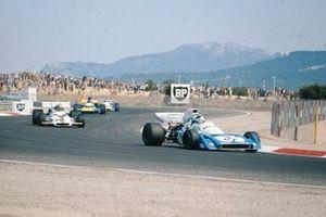 Jean-Pierre Beltoise, Matra MS120B, Jo Siffert, BRM P160, Graham Hill, Brabham BT34 Ford, Chris Amon, Matra MS120B, GP di Francia del 1971