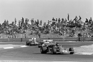 Emerson Fittipaldi, Lotus 72D Ford, Jo Siffert, BRM P160, Tim Schenken, Brabham BT33 Ford, GP di Francia del 1971