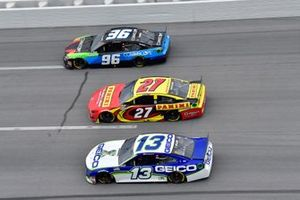 Ty Dillon, Germain Racing, Chevrolet Camaro GEICO, Gray Gaulding, Rick Ware Racing, Ford Mustang, Daniel Suarez, Gaunt Brothers Racing, Toyota Camry CommScope