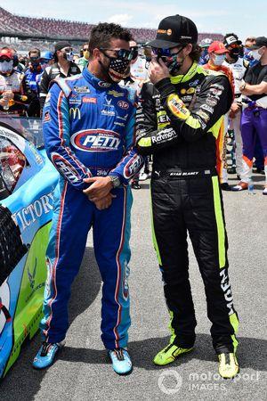 Darrell Wallace Jr., Richard Petty Motorsports, mit Ryan Blaney, Team Penske