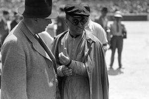 Alfred Neubauer with Luigi Fagioli