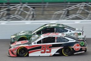 Christopher Bell, Leavine Family Racing, Rheem Toyota Camry, Clint Bowyer, Stewart-Haas Racing, One Cure Ford Mustang