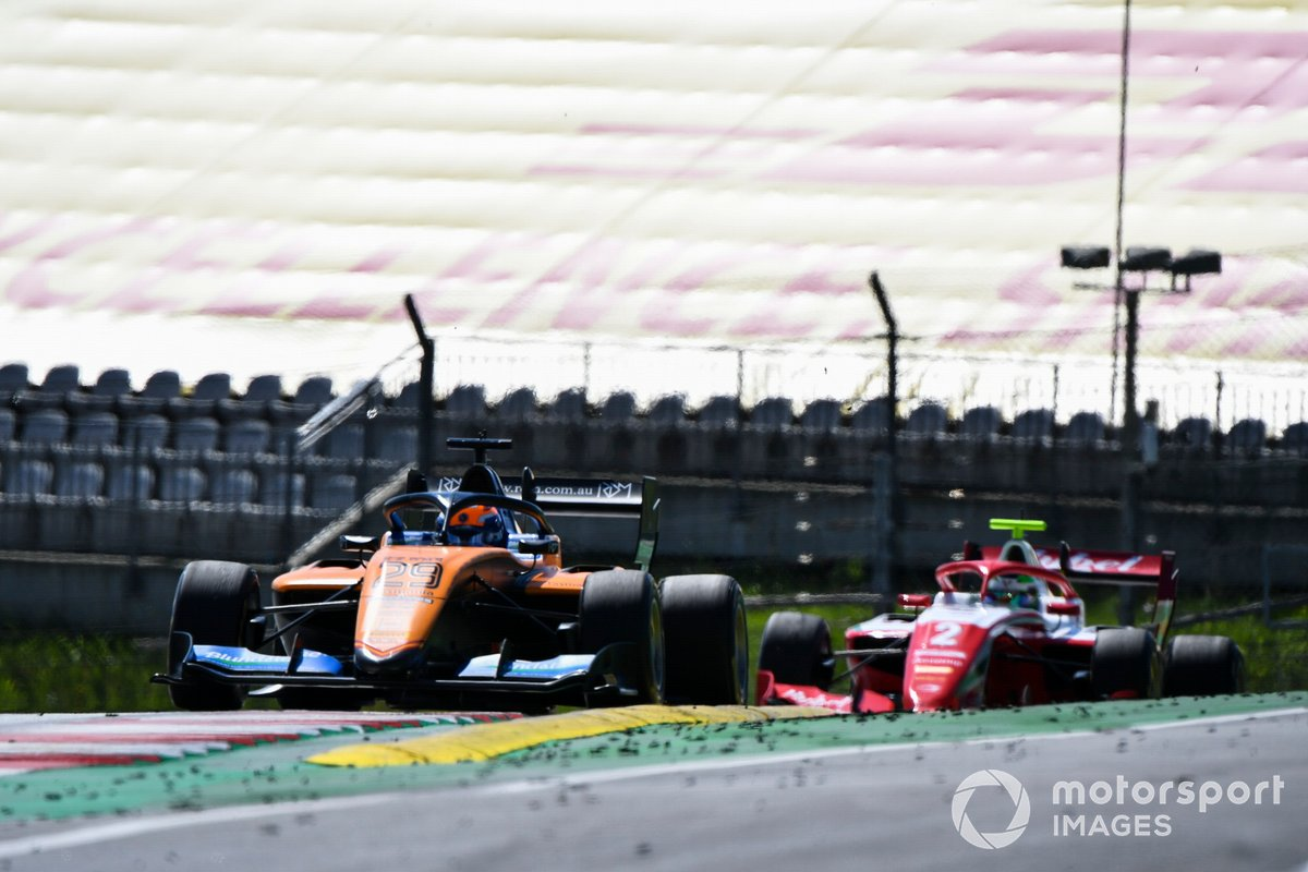 Alexander Peroni, Campos Racing e Frederik Vesti, Prema Racing