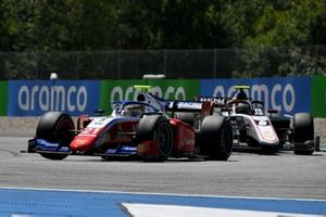 Robert Shwartzman, Prema Racing, en Christian Lundgaard, ART Grand Prix