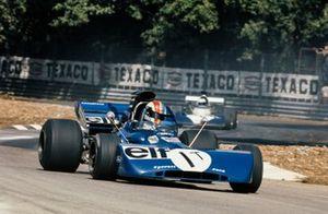 François Cevert, Tyrrell 002/005 Ford in the spare car