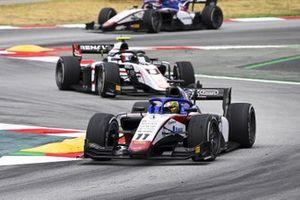 Louis Deletraz, CHAROUZ RACING SYSTEM et Christian Lundgaard, ART Grand Prix