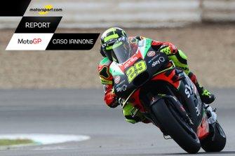 Copertina MotoGP Caso Iannone