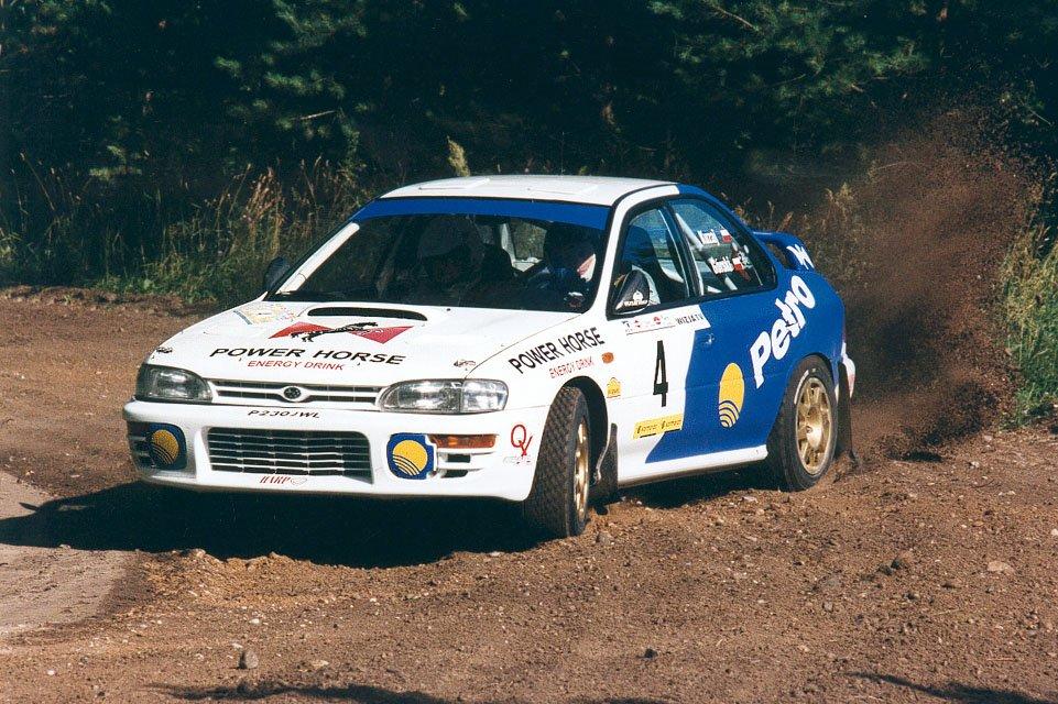Leszek Kuzaj, Andrzej Górski, Subaru Impreza 555