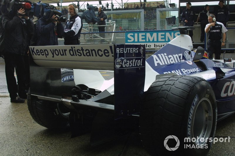 Juan Pablo Montoya, Williams FW23 BMW