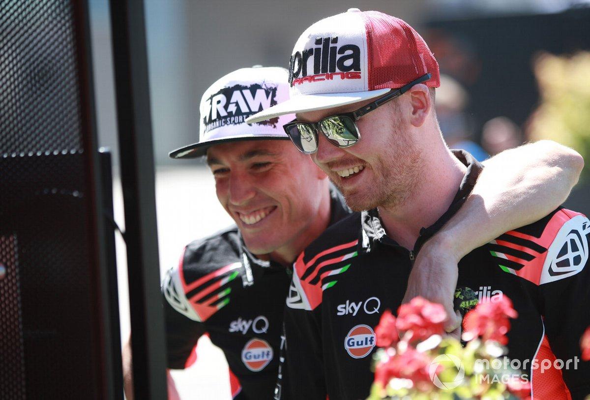 Aleix Espargaro, Aprilia Racing Team, Gresini Bradley Smith, Aprilia Racing Team Gresini