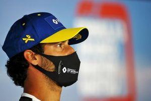 Daniel Ricciardo, Renault F1 in de persconferentie