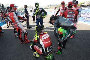 Cal Crutchlow, Team LCR Honda, Franco Morbidelli, Petronas Yamaha SRT