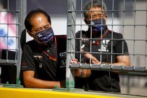 Masashi Yamamoto, General Manager, Honda Motorsport y Toyoharu Tanabe, director técnico de Honda F1