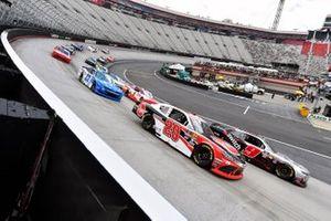 Christopher Bell, Joe Gibbs Racing, Toyota Supra Rheem, Noah Gragson, JR Motorsports, Chevrolet Camaro Switch