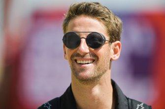 Romain Grosjean, Haas F1 arrives in the paddock