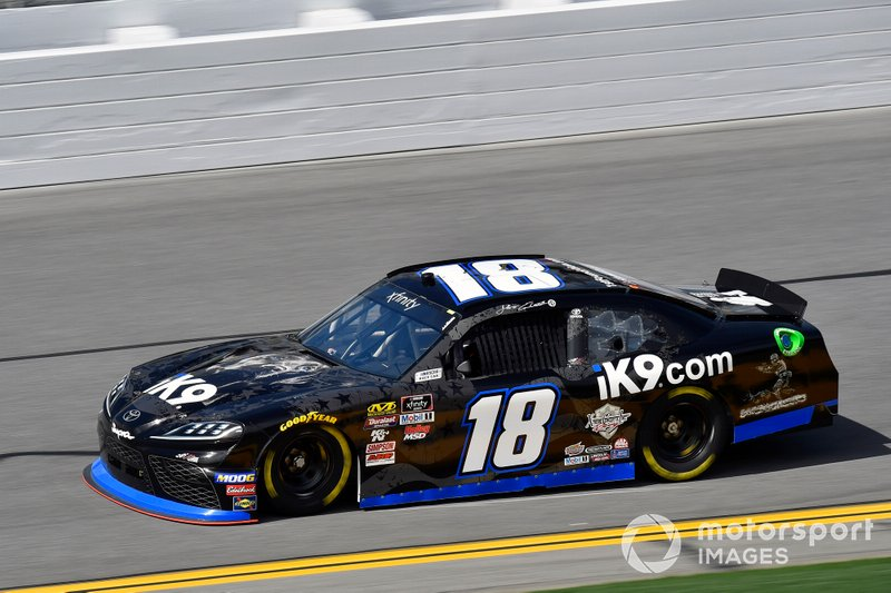 Jeffrey Earnhardt, Joe Gibbs Racing, Toyota Supra iK9