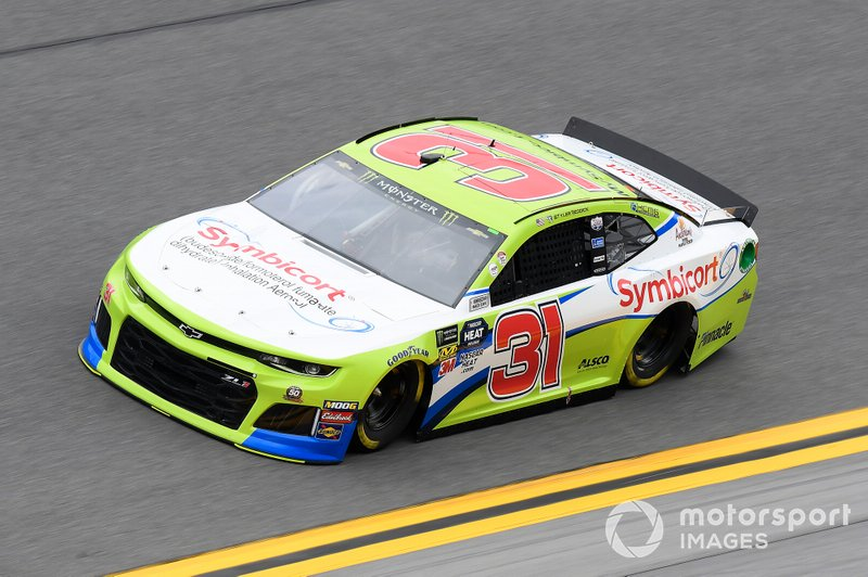 #31: Tyler Reddick, Richard Childress Racing, Chevrolet Camaro