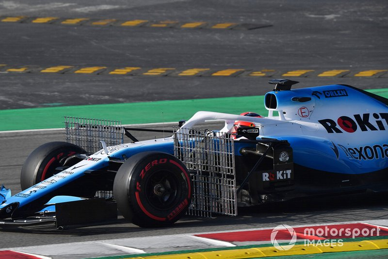 Robert Kubica, Williams FW42 con sensores