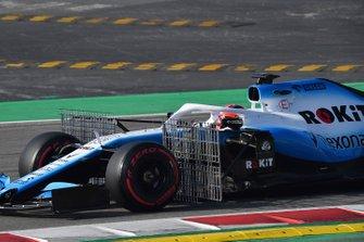 Robert Kubica, Williams FW42 with aero sensor