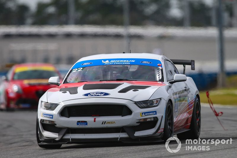 #22 Multimatic Motorsports Ford Mustang GT4, GS: Austin Cindric, Chase Briscoe, Billy Johnson