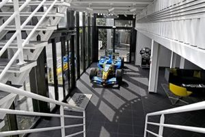 Renault factory entrance overview
