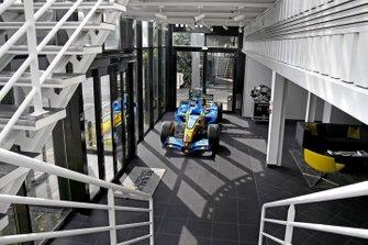 Vista de la entrada de la fábrica Renault