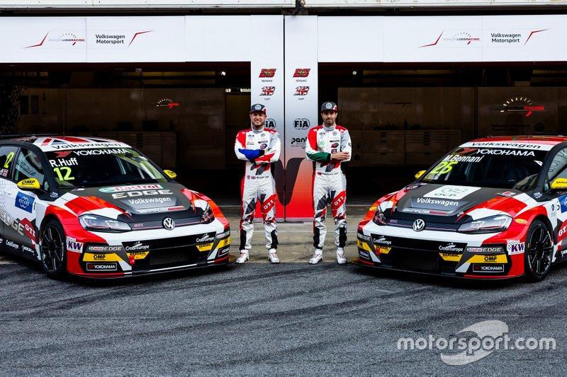 Команда SLR VW Motorsport (Франция): Роб Хафф и Меди Беннани