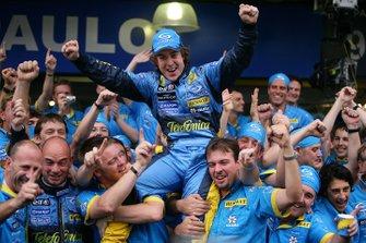 Campeón del Mundo Fernando Alonso, Renault