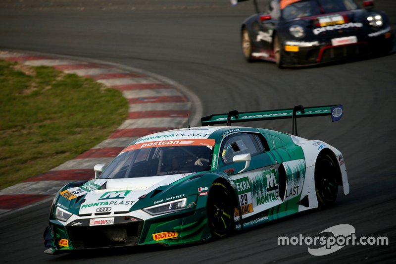 #29 Montaplast by Land-Motorsport Audi R8 LMS: Max Hofer, Christopher Mies