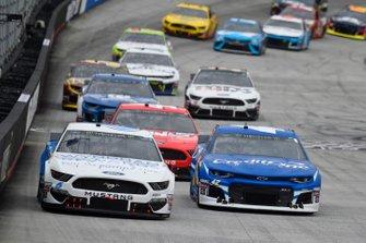 Ryan Newman, Roush Fenway Racing, Ford Mustang Wyndham Rewards, Kyle Larson, Chip Ganassi Racing, Chevrolet Camaro Credit One Bank
