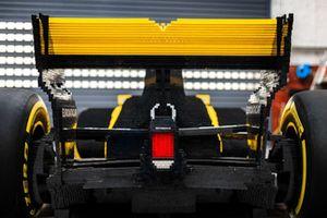 Lego Renault R.S.17, detalle trasero