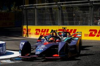 Robin Frijns, Envision Virgin Racing, Audi e-tron FE05 Mitch Evans, Jaguar Racing, Jaguar I-Type 3