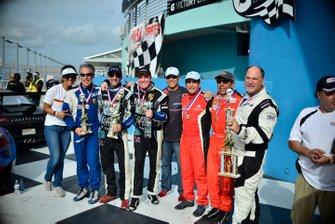 Paulo Lima, David Tuaty, Dan Hardee, Pedro Redondo Sr., John Estupinan, and Adam Yunis