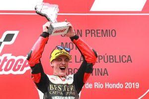Podium: race winner Jaume Masia, Bester Capital Dubai