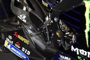 Bike of Valentino Rossi, Yamaha Factory Racing, rear brake
